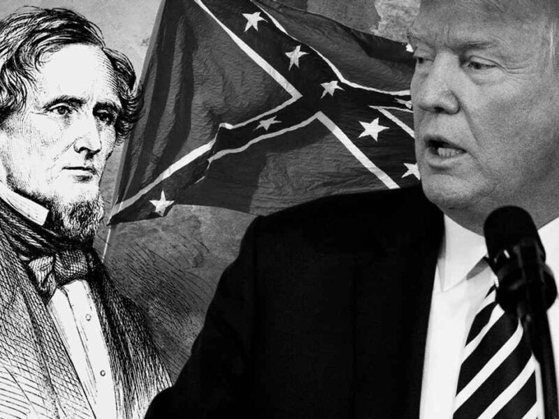 If Donald Trump is Jefferson Davis, Then Mitch McConnell is Robert Lee