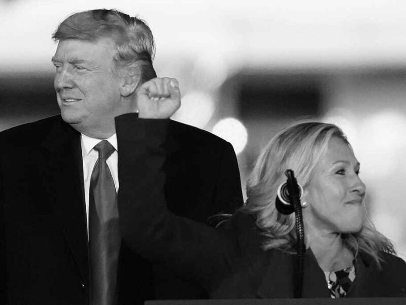 Marjorie Greene is Stealing Trump Thunder