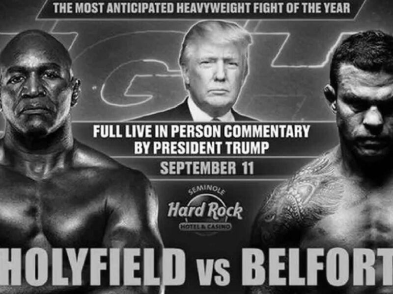 Real Presidents Commemorated 9/11. Fuhrer Rigs a Boxing Match