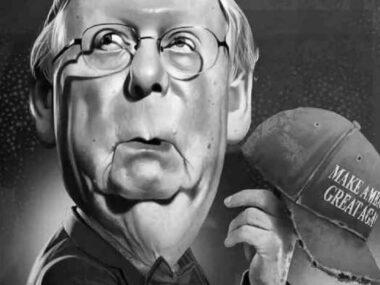 A Silent Senator Mitt Romney Gave Away McConnell's Bluff