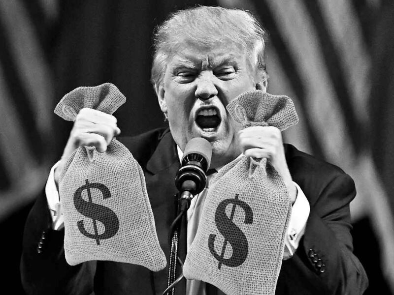 Trump is Siphoning Off Money From His Clueless Supporters